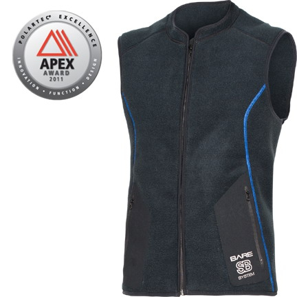 SB System Mid-layer Vest Man