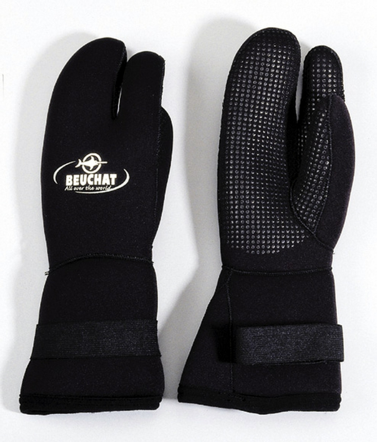 3-FINGER GLOVES - 7MM - titanium
