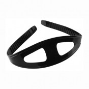 MASK STRAP BLACK SIL