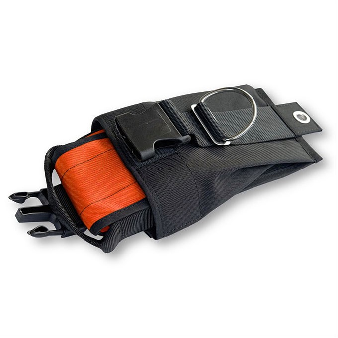 Weighting system for backplate - ORANGE inner pockets