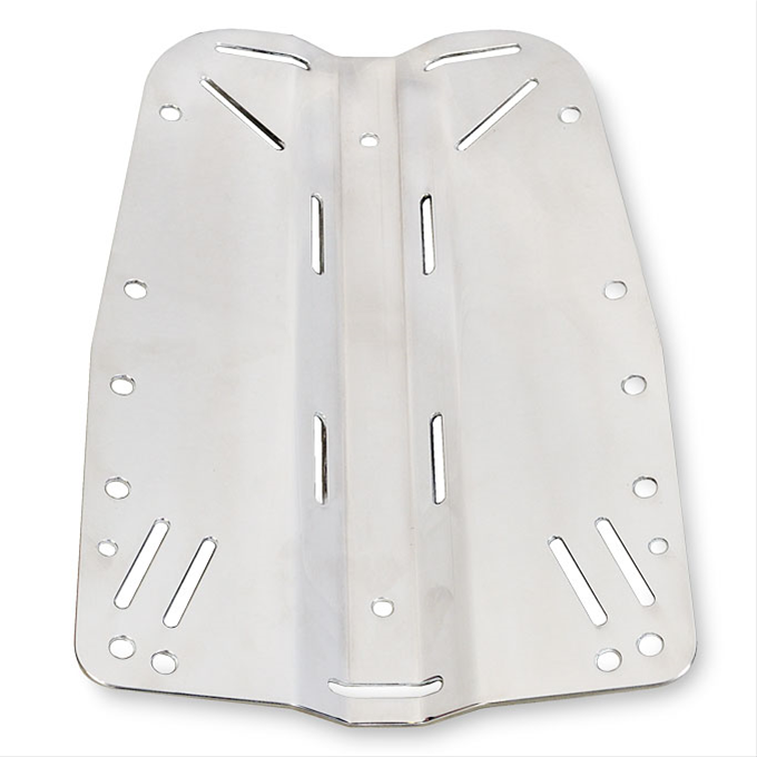 Backplate s-s 6 mm